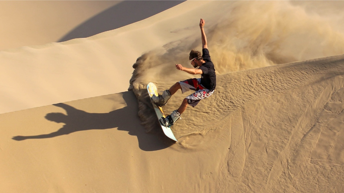 Sandboard. Foto: PX Sports