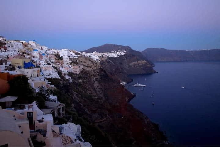 Santorini la isla griega Foto Maggi Meng