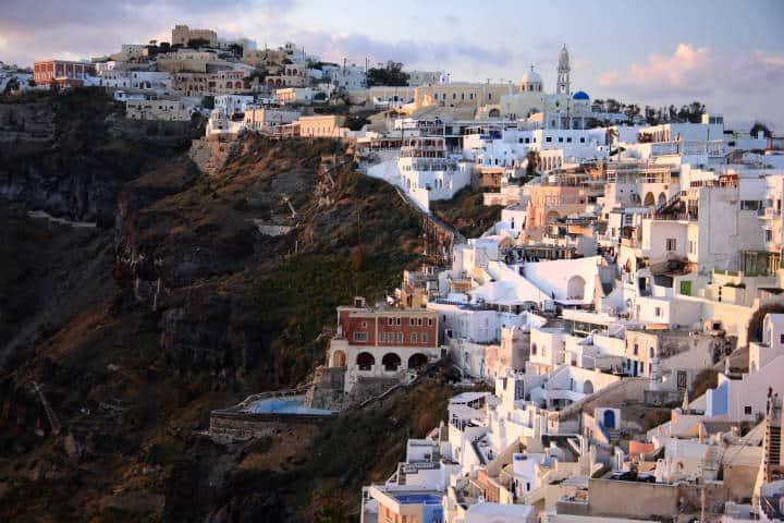Santorini la isla griega Foto Winam