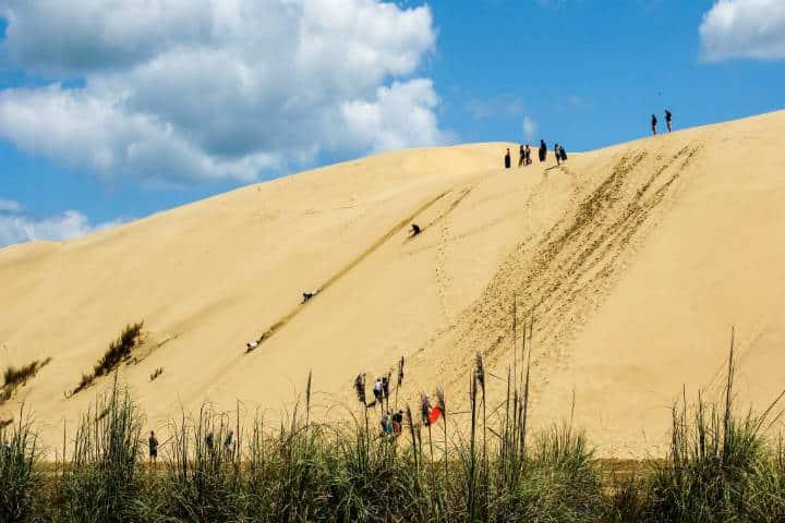 6 grandes destinos del mundo para hacer sandboard
