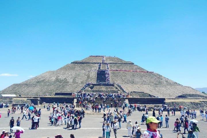 Teotihuacan. Foto Turismo Teotihuacan Mx