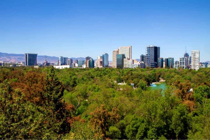 Bosque de Chapultepec Foto Garrett Ziegler