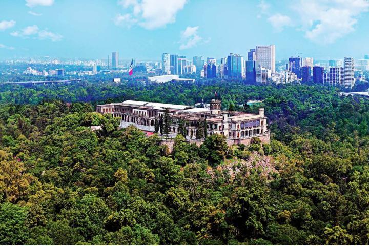 Bosque de Chapultepec. Foto_ Códice Informativo