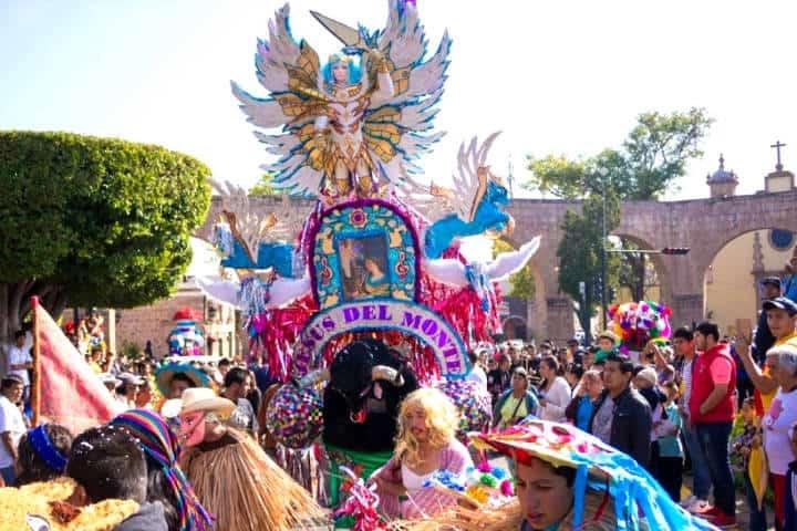 Carnaval 2020 de la región purépecha Foto Quadrantin Michoacán