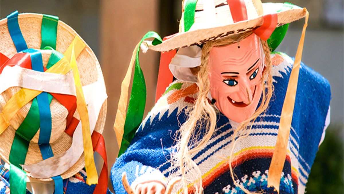 Carnaval de la Región Purépecha. Foto Zona Turistica.