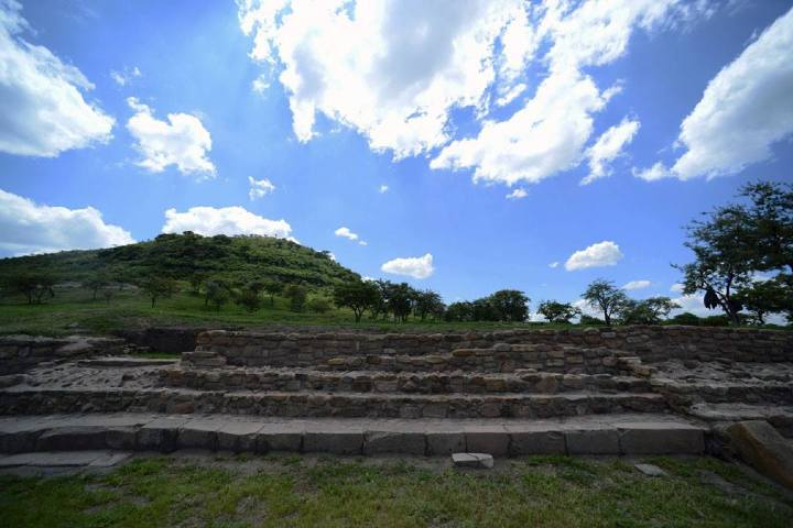 Cerro del Teul. Foto Instituto Nacional de Antropología e Historia