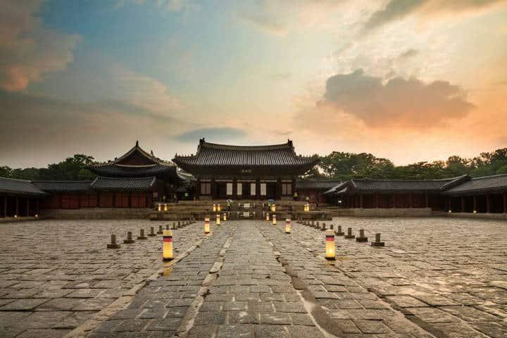 Palacios reales de Seúl