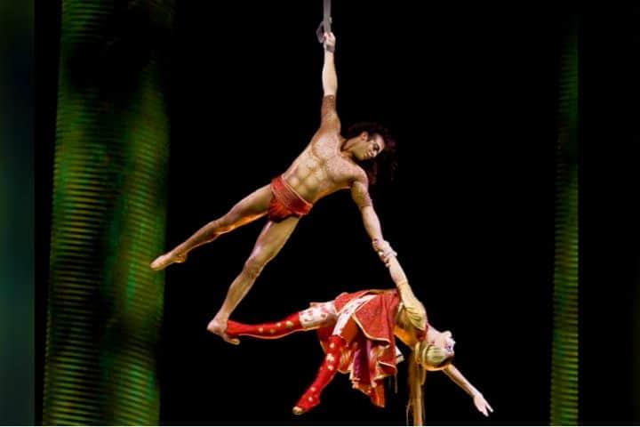 Cirque du Solei ka Foto Visit Las Vegas