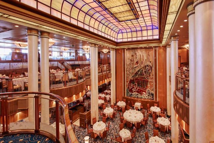 Cuenta con hermosos restaurantes. Foto Cunard.