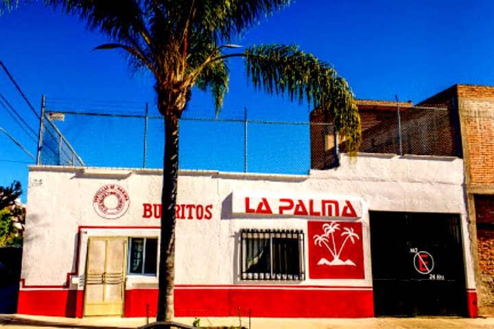 Burritos La Palma. Foto BLP la palma