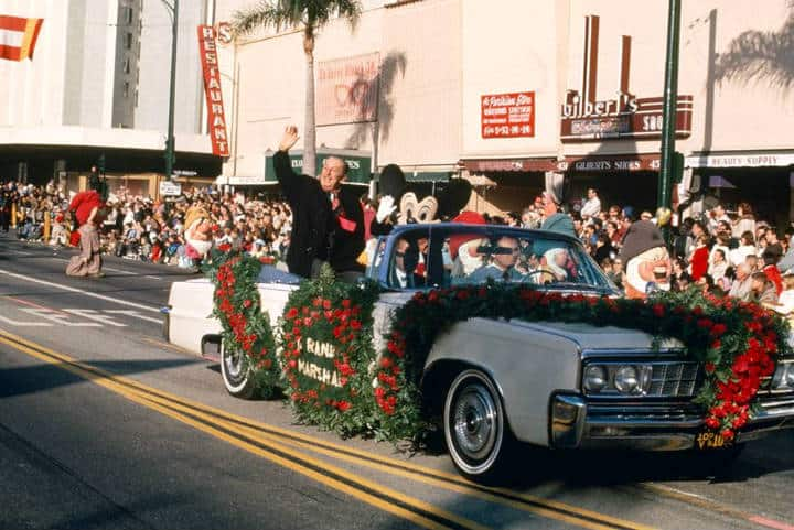 Desfile de las Rosas en 1966 Walt Disney Foto TWDFM 1