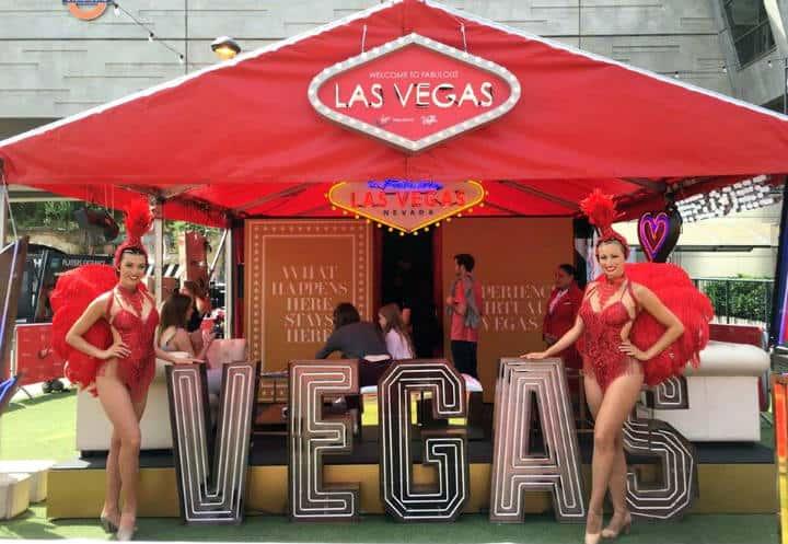 Entertainers Foto Visit Las Vegas