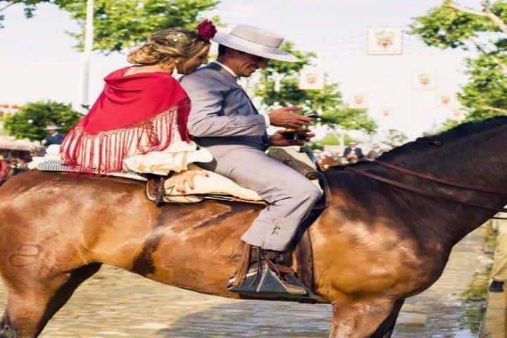 Fiestas y ferias de Jerez. Foto Pinterest.