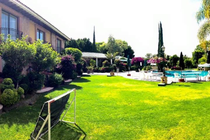 Hotel Hacienda de la Noria. Foto Ven súbete a la van