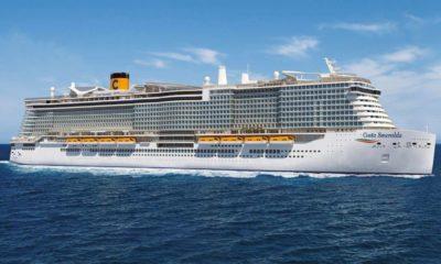 Crucero ecoamigable Costa Smeralda. Foto Archivo
