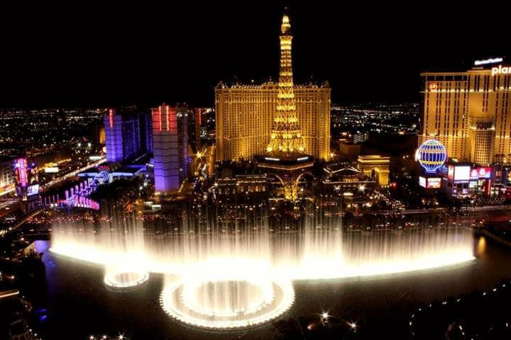 Fuentes del Bellagio Foto Visit Las Vegas