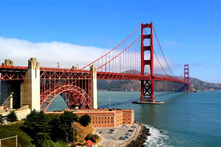 Golden Gate Bridge Foto J. Philipp Krone