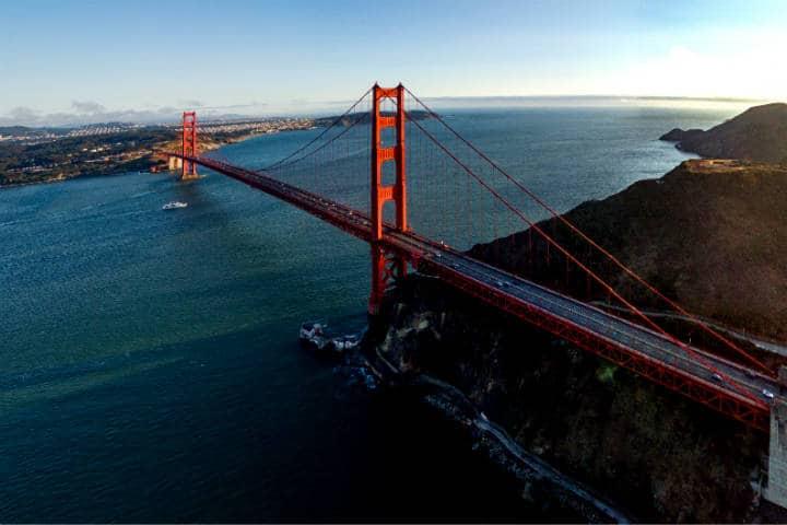Golden Gate Bridge Foto Jeff