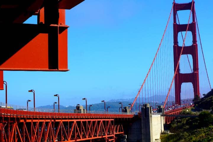 Golden Gate Bridge Foto Kristina D.C. Hoeppner