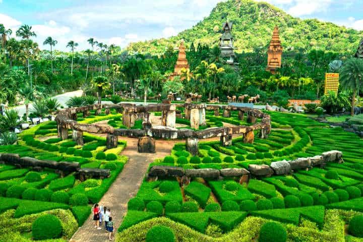 Jardines botánicos Foto Cerodosbé