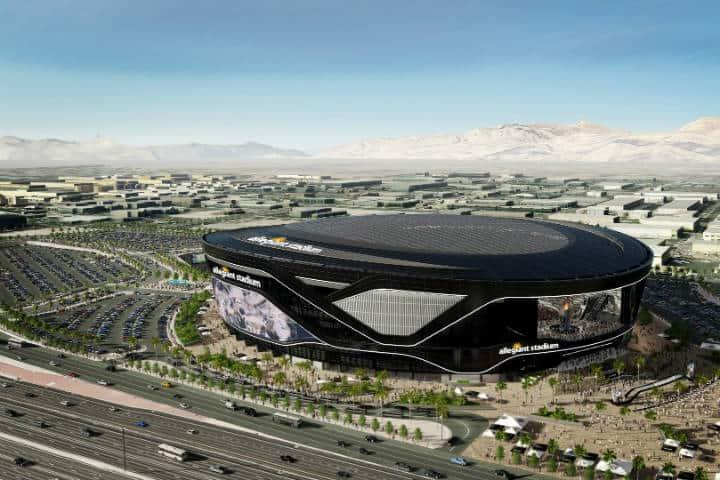 Las Vegas Stadium Foto Visit Las Vegas