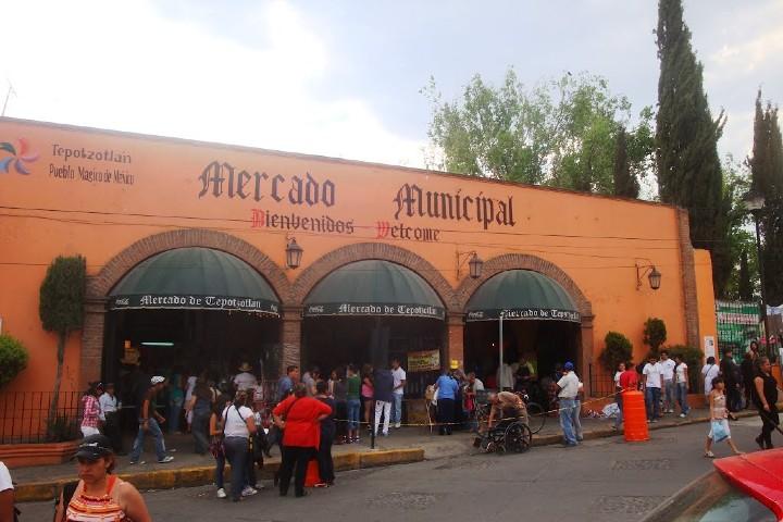 Mercado Municipal Tepotzotlán. Foto_ Mapio.net