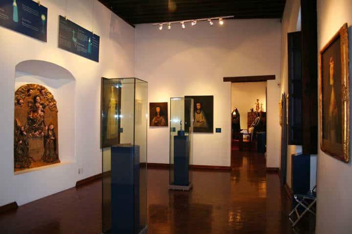 Monjas coronadas, Museo Nacional del Virreinato. Foto Museo Nacional del Virreinato