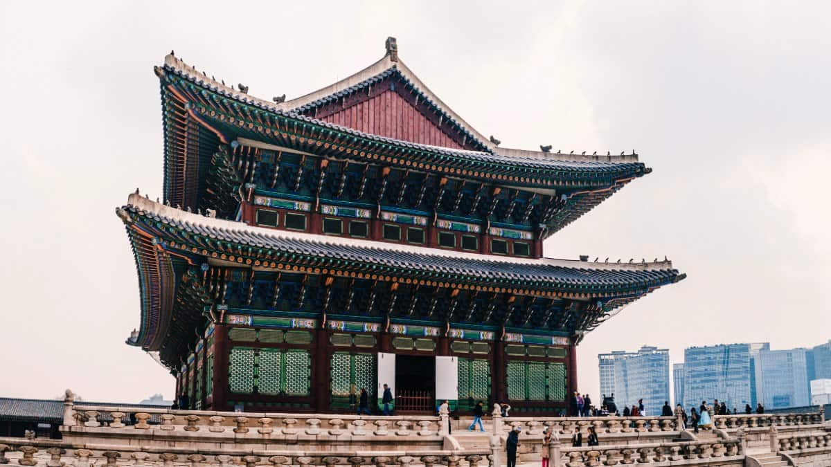 Portada: Video Palacios de Seúl Corea. Foto: Aldo Loya
