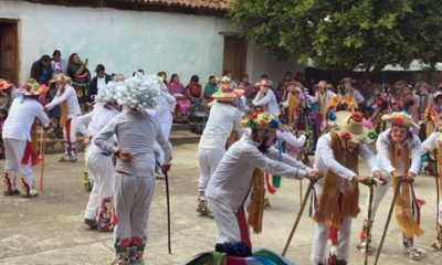 Carnaval 2020 de la región purépecha. Foto: Quadratin