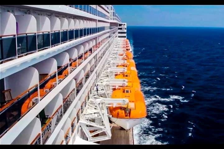 Queen Mary 2. Marítima Mar Azul