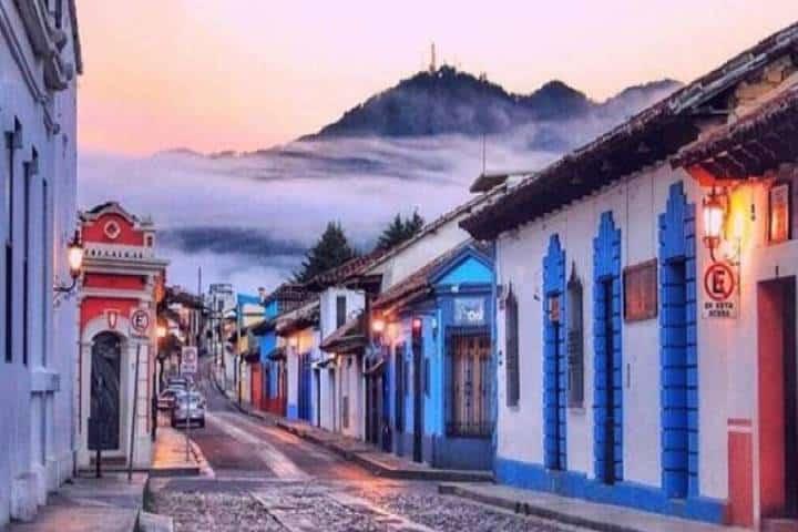 San Cristóbal de las casas. foto Economía Hoy