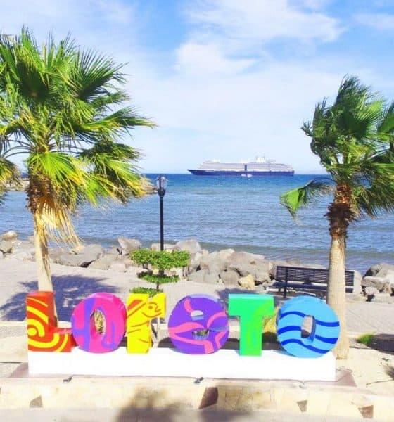 Senderismo en Loreto port