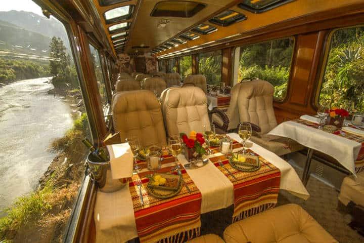The First Class. Foto Inca Rail