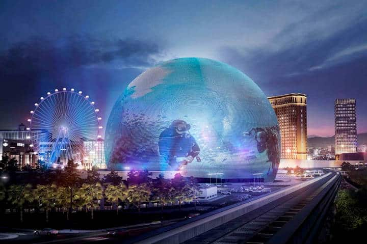 The MSG Sphere Foto Las Vegas News
