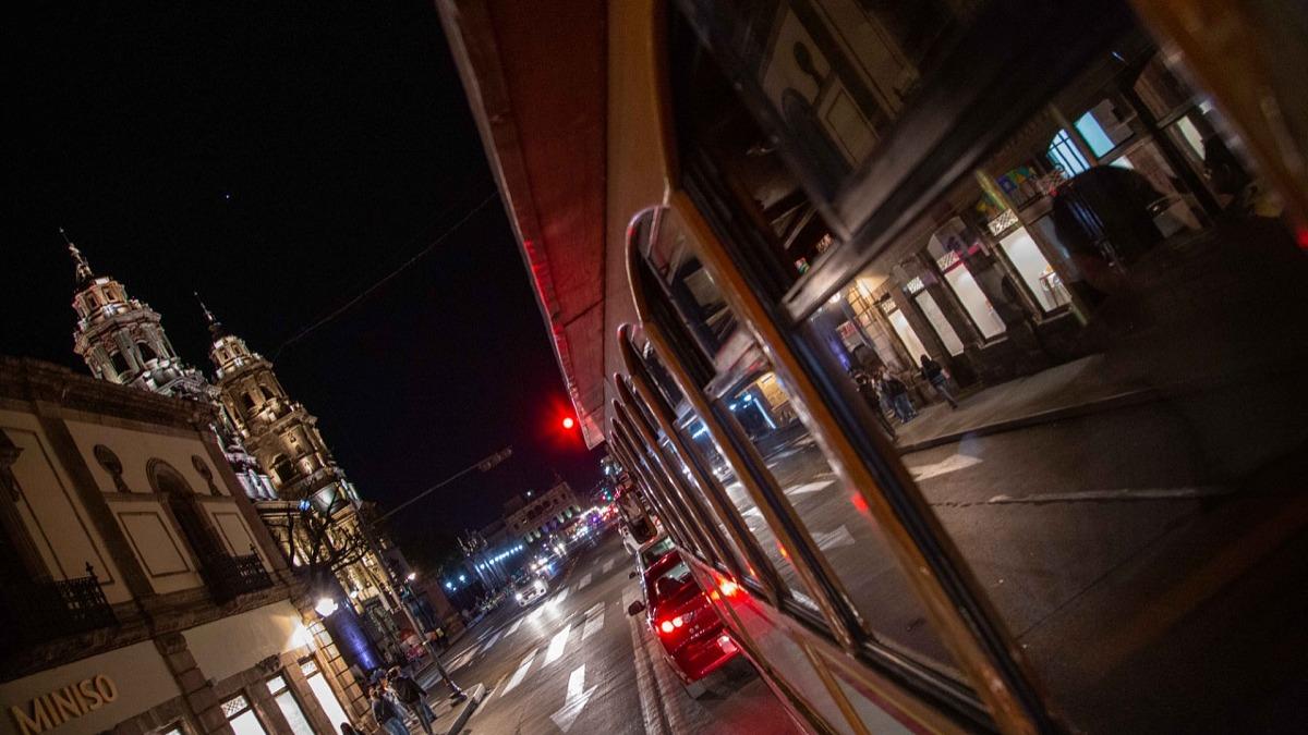 Tranvía del Romance en Morelia. Foto: Morelia activa