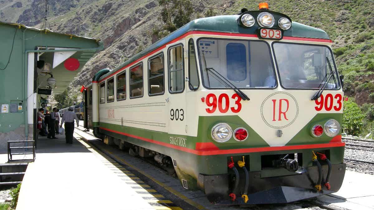 Tren Inca Rail a Machu Picchu. Foto David Almeida