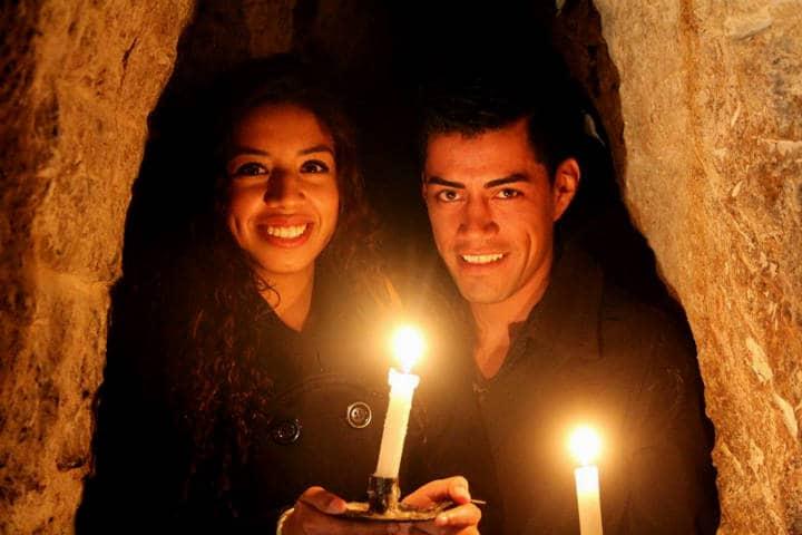 Tunel de La Parroquia de Nuestra Señora de Belen. Foto Viva Aguascalientes