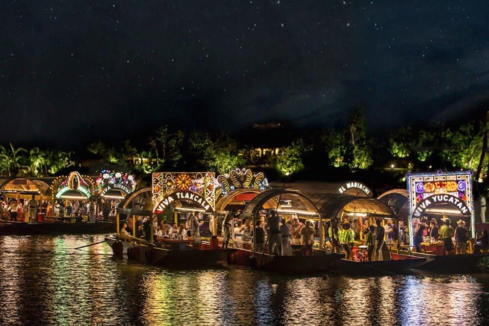 Xoximilco: una de las mejores aventuras. Foto: Visit México