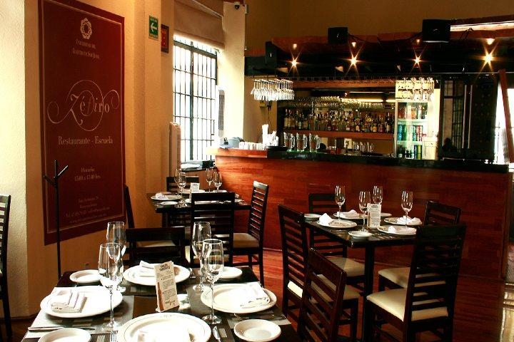 Visita el restaurante Zéfiro. Foto Universidad del Claustro de Sor Juana.