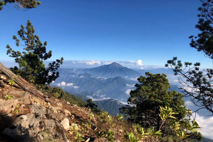 Volcán Tacana. Foto Maira Salazar en Unsplash.