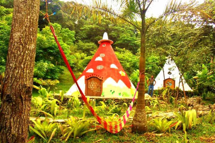 Xilitla para pasar San Valentín Foto Hotel Casa Caracol