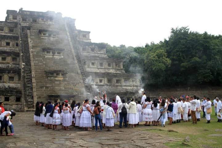 Zona Arqueológica Foto Cumbre Tajín 3