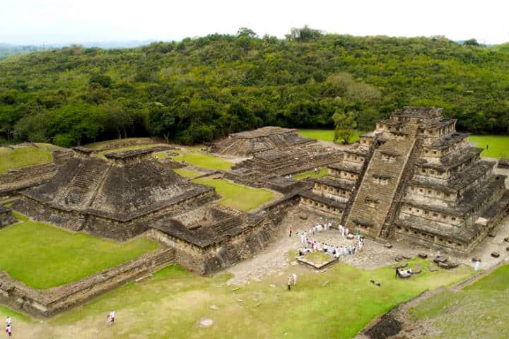 Zona Arqueológica Foto Cumbre Tajín 6