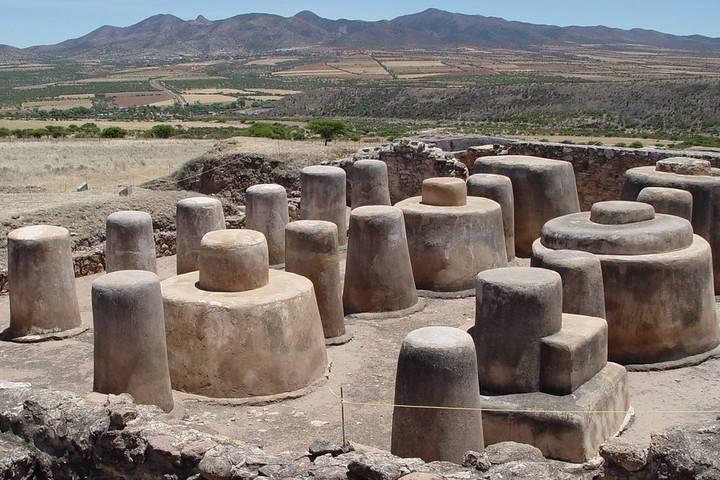 Zonas arqueológicas de Zacatecas