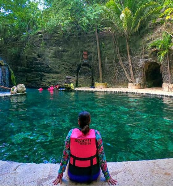 Xcaret El mejor parque acuatico Foto Xcaret