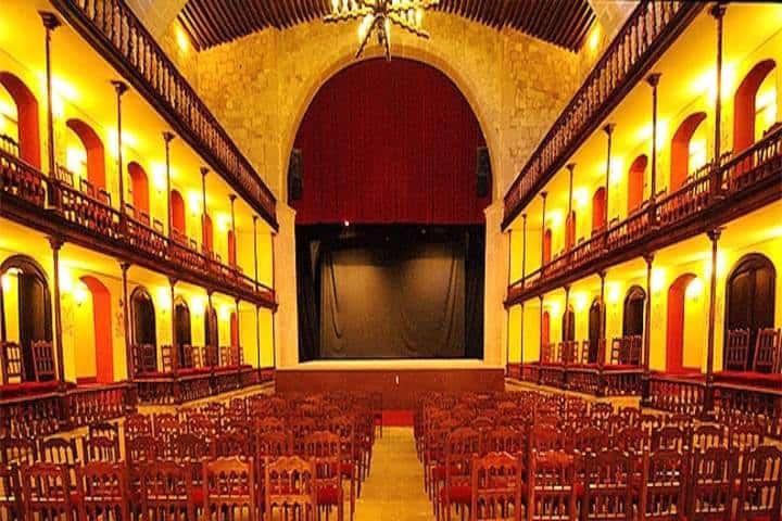 teatro Hinojosa. foto zona turística