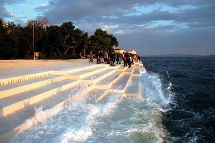 Órgano de mar Foto Construmatica 2