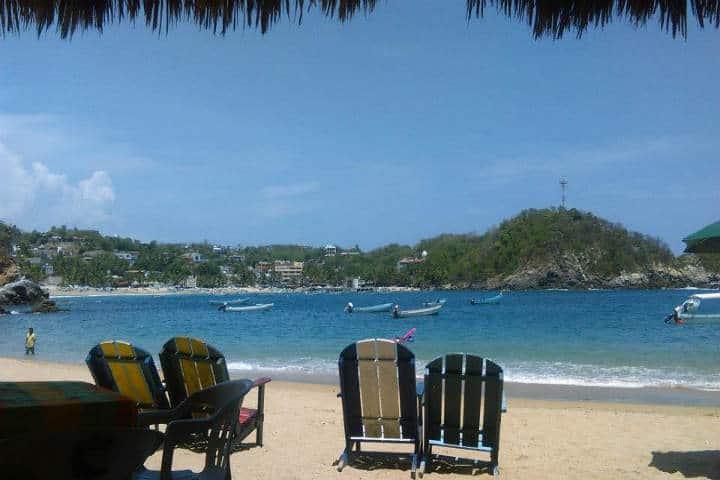 Playa Panteón Foto: Hugo CH
