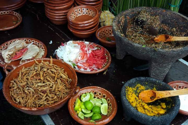 Comida Michoacan. Foto Vive Maravatío