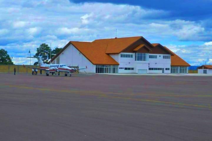 Aeropuerto de Creel. Foto: Edna Martínez